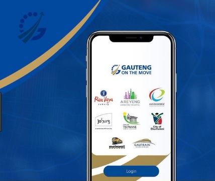 The new 'Gauteng on the Move' app